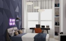 Квартира в классическом стиле (детская)