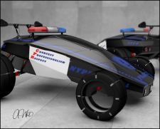 Toy car POLICE