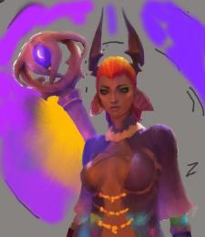 Рисунок игрового персонажа