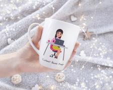 Дизайн чашки для, руководителя
