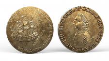 USA Halfpenny William Pitt tokens 1766 coin