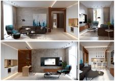 Дизайн апартаментов в жилом комплексе Greenwood