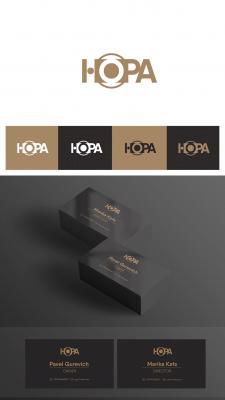 "Логотип и визитка ""HOPA"""