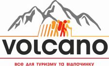 "Логотип магазина для туризма и отдыха ""Volcano"""