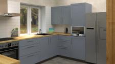 Кухня-гостиная. Дизайн интерьера частного дома