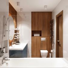 Дизайн итнерьера ванной комнаты