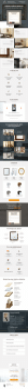 Сайт для студии зеркал