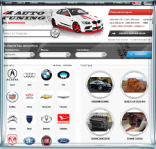 Наполнение сайта Auto tuning