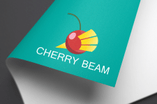 """Логотип """"Cherry beam"""""""