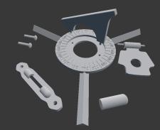 Элементы фурнитуры на шкатулок