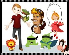Персонажи для анимации