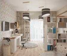 Интерьеры жилого дома в Киевской области