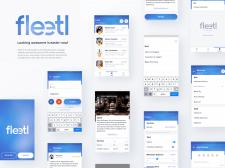 Мобильное приложение Fleetl
