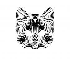 Котик иллюстрация