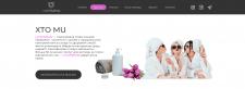 Landing page for massage studio