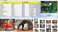 Сбор базы фотографий выставочных компаний