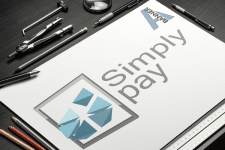"""Логотип """"Simply pay"""""""