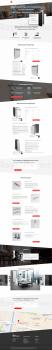 Landing Page Дизайнерские радиаторы