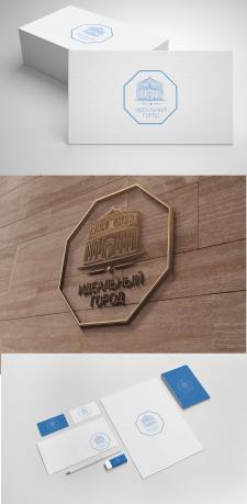 Логотип и фирменный стиль для жилого комплекса