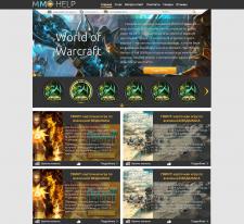 Дизайн игрового сайта