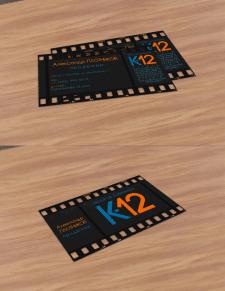Визитка продюсера К12