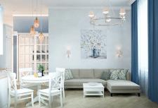 Проект квартиры неоклассика