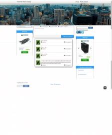 Сайт на фреймворке