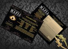 Листовка сети ресторанов Mafia