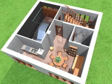 3-х этажный дом