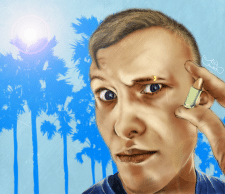 Digital portrait / Растровый рисунок