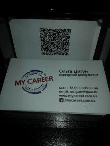 Разработка дизайна визиток
