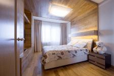 Квартира эко лофт спальная