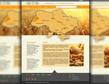 дизайн сайта (спілка пекарських центрів )