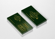 Дизайн визитки для ЖК Почаївський 3