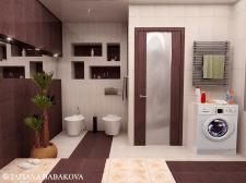 Дизайн- проект ванная комната 01