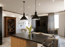 Визуализация интерьера 2-комнатной квартиры 70м²