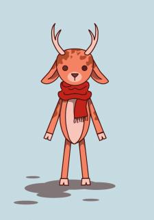 Иллюстрация персонаж