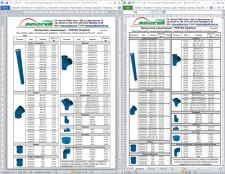Прайс (из Word в Excel)