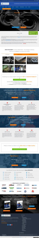 Корпоративный сайт на шаблоне Avada