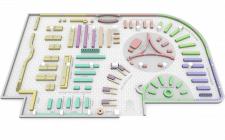 3D планировка Супермаркета (мобильное приложения)
