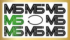 Двубуквенный именной логотип - 1