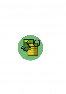 Простой логотип для оформления документа