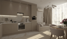 Дизайн кухни (Нежная)