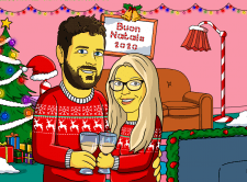Simpsons Cartoon Christmas