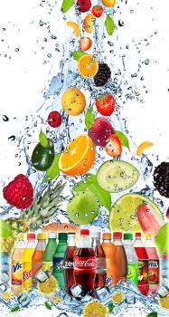 баннер прохладительных напитков