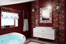 Дизайн и визуализация ванной комнаты