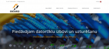 Сайт на Wordpress http://ontario.lv/