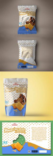 Дизайн упаковки овcяного печенья