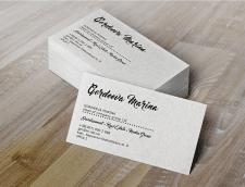 Дизайн визитки  для руководителя