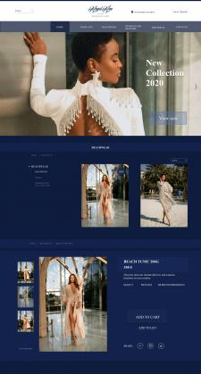 Сайт магазина женской одежды AngelAnn